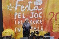 Foto: Més de 10.000 persones participen a la Festa pel joc i l'oci en català (PLATAFORMA PER LA LLENGUA)