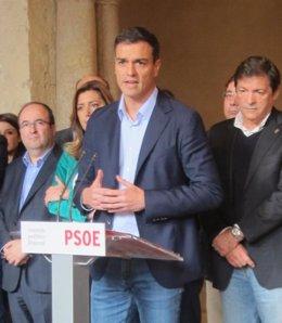 Foto: El PSOE retrasa su iniciativa sobre la reforma constitucional en el Congreso, en espera de lo que ocurra en Cataluña (EUROPA PRESS)
