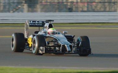 Foto: McLaren-Honda enseña el prototipo del posible coche de Fernando Alonso (YOUTUBE)