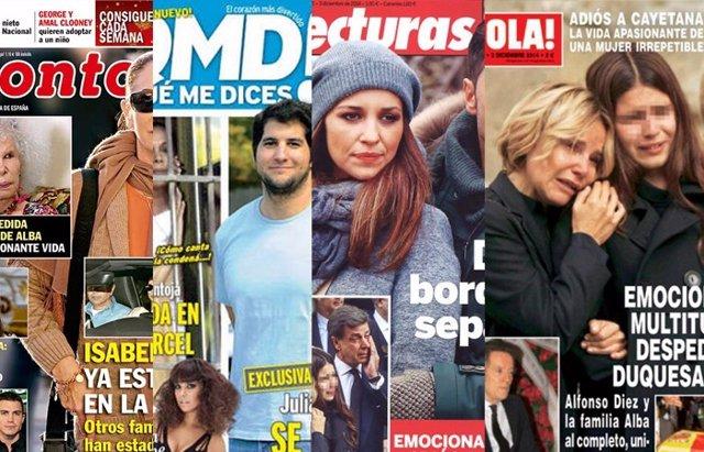 Foto: La Pantoja entre rejas, el último adiós a la Duquesa y ¿crisis entre Paula Echevarría y Bustamante? (REVISTAS )