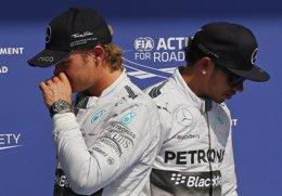 """Foto: Hamilton: """"Estoy seguro que Nico y yo manejaremos mejor la cosas en 2015"""" (REUTERS)"""