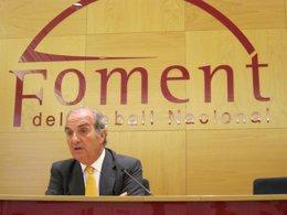 Foto: Gay de Montellà presenta 276 avales para renovar como presidente (EUROPA PRESS)