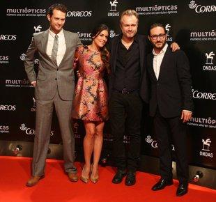 Foto: Adriana Ugarte, 'El Príncipe', Malú... protagonistas de los Premios Ondas 2014 (DAVID OLLER)