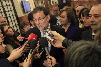 """Foto: Rajoy: Mas ha donat """"un pas més cap enlloc"""" (EUROPA PRESS)"""