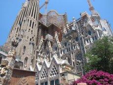Foto: La Sagrada Família habilita escales a la Façana del Naixement (EUROPA PRESS)