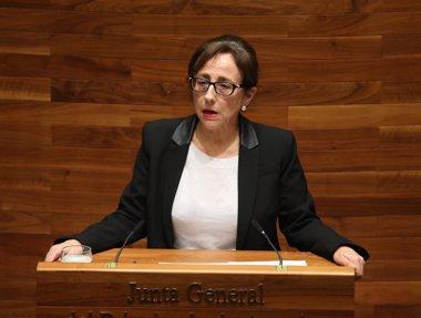 Foto: Belén Fernández recuerda al Gobierno central que ya adeuda a Asturias 25 millones por el soterramiento de Langreo (ARMANDO ÁLVAREZ)