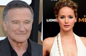 Foto: Robin Williams y Jennifer Lawrence, los más buscados en Internet (GETTY)