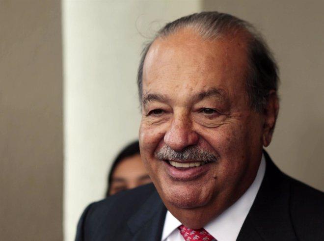 Foto: Carlos Slim, primer accionista de FCC con un 25,63% de su capital (JORGE ADORNO / REUTERS)