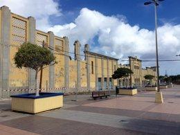 Foto: Las obras del futuro Parque Deportivo del Cabildo de Gran Canaria podrían concluir en cuatro meses (EUROPA PRESS)