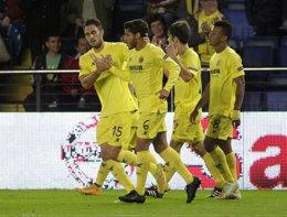 Foto: El Villarreal choca con el 'Gladbach' (REUTERS)