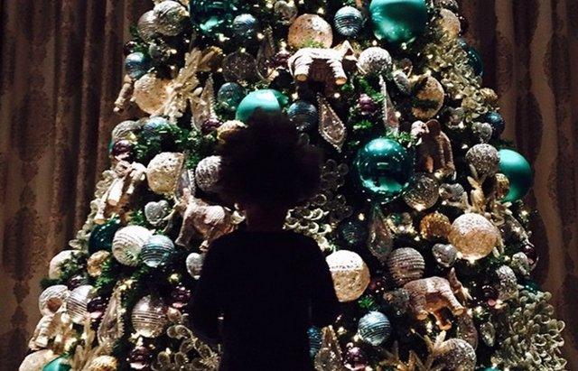 Foto: Beyoncé y su familia, listos para Navidad (INSTAGRAM @BEYONCÉ )