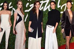 Foto: Los mejores looks de la alfombra roja de los British Fashion Awards (GETTY)