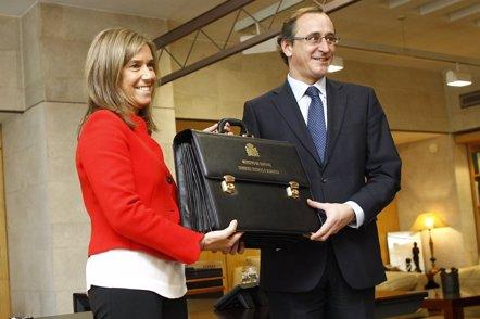 """Foto: Alonso se estrena en Sanidad con el propósito de hacer """"el Gobierno más social posible"""" (EUROPA PRESS)"""