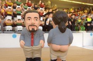 Foto: El caganer de Pablo Iglesias, dispuesto a arrasar esta Navidad (CAGANER.COM )