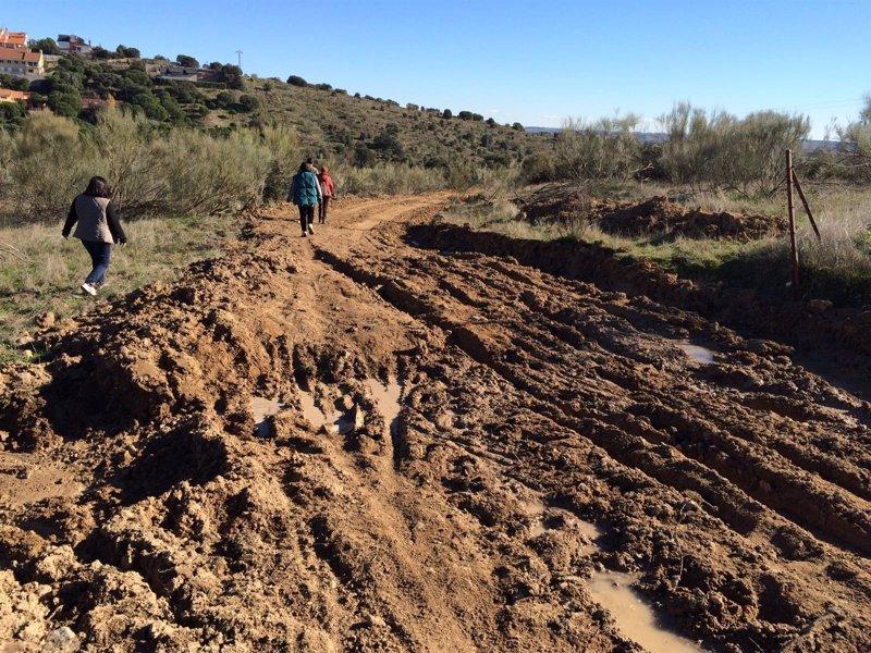 """IU denuncia los """"destrozos"""" en el Parque del Guadarrama - Europa Press"""
