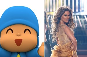 Foto: Lo más visto de YouTube en España este 2014: de Pocoyó a Edurne a lo Beyoncé (TWITTER @POCOYÓ/ ANTENA 3)