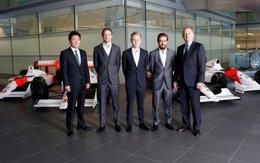 Foto: Alonso retorna a McLaren compartiendo equipo con Button (MCLAREN)