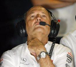 """Foto: Dennis: """"Con Alonso y Button tenemos la mejor pareja de la actualidad"""" (Reuters)"""