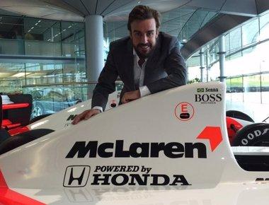 """Foto: Alonso: """"Vengo para acabar el trabajo que empecé en 2007"""" (TWITTER)"""