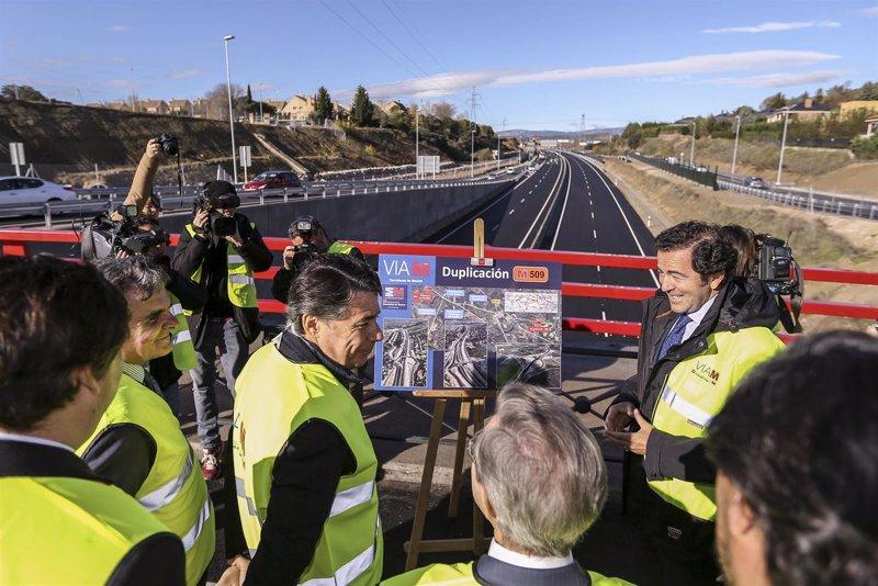González inaugura la duplicación de la M-509, que ha sido ... - Europa Press