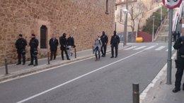 Foto: Los 11 detenidos por terrorismo anarquista pasan este miércoles a disposición judicial (EUROPA PRESS)