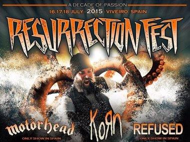 Foto: Resurrection Fest 2015 anuncia a Korn, Refused, Black Label Society, Fear Factory y Satanic Surfers (RESURRECTION FEST)