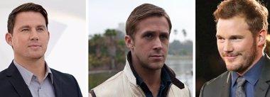 Foto: Channing Tatum, Ryan Gosling y Chris Pratt, ¿los nuevos Cazafantasmas? (GETTY)