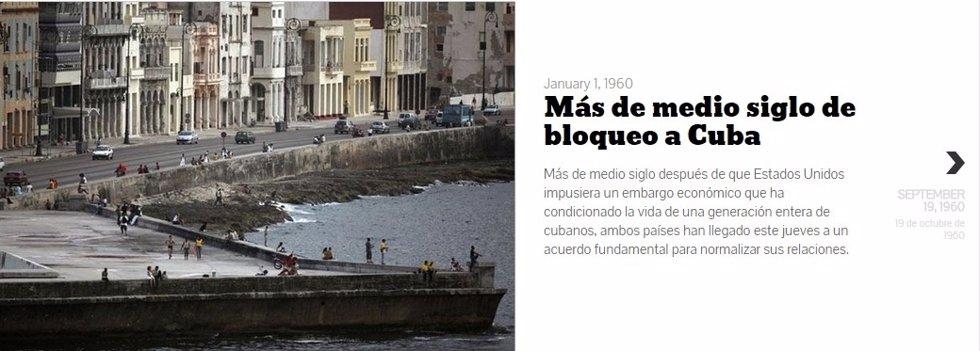 Foto: Más de medio siglo de enfrentamiento entre Cuba y Estados Unidos (EUROPA PRESS)