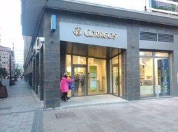 Foto: La nueva Oficina Principal de Correos en Logroño abre hoy en la calle Once de junio 1 (CORREOS)