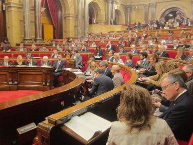 Foto: ERC retira in extremis la seva esmena a la totalitat a la Llei d'Acompanyament (EUROPA PRESS)