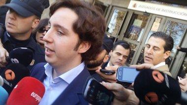 Foto: El pequeño Nicolás se niega a declarar ante el juez (EUROPA PRESS)