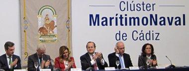 """Foto: Susana Díaz quiere que el sector naval de Cádiz sea """"referente"""" en el Mediterráneo (EUROPA PRESS)"""