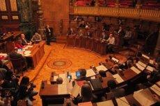 Foto: Barcelona aprova els comptes del 2015 amb els vots de CiU i l'abstenció del PSC i UpB (EUROPA PRESS)