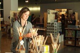 Foto: El Disseny Hub acoge un mercado de productos de diseño (EUROPA PRESS)
