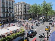 Foto: El nou pla d'establiments de la Rambla paralitza l'obertura d'hotels (EUROPA PRESS)