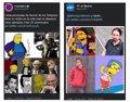 """Podemos y PP se enfrentan en Twitter en un """"duelo de parecidos de Los Simpson"""""""