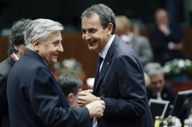 Foto: El BCE publica la correspondencia entre Trichet y Zapatero en agosto de 2011 (REUTERS)