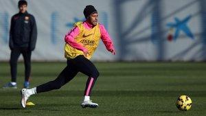 Foto: Montoya i Neymar, novetats contra el Còrdova (MIGUEL RUIZ / FCB)