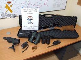 Foto: Detectados dos cazadores, uno de ellos de La Rioja, sin licencia en Teruel (GC)