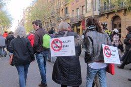 Foto: Más de treinta ciudades de toda España acogen manifestaciones contra la ley de Seguridad Ciudadana (EUROPA PRESS)