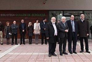 Foto: La nova seu de la biblioteca de Puig-reig obre amb un fons de 28.500 documents (DIPUTACIÓ DE BARCELONA)