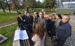 Foto: El Ayuntamiento acometerá un reforma integral del Parque de La Marga (AYTO)