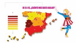 Foto: Canarias, entre las regiones menos bailonas de España (CEDIDA)