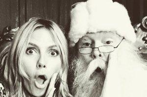 Foto: ¿Qué le habrá pedido Heidi Klum a Santa Claus? (INSTAGRAM @HEIDI KLUM )