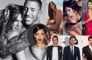 Foto: El topless de Jennifer Aniston, el secreto que humilló a Rihanna y los guapos y guapas del 2014 (CORDON PRESS/INSTAGRAM/EUROPAPRESS/VARIOS)