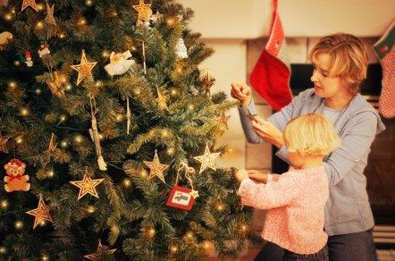 Foto: Navidad y niños: consejos para disfrutar en familia (DESIGN PICS)
