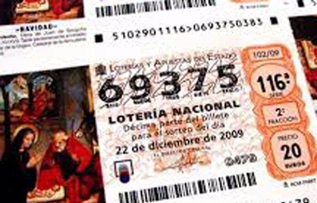 Foto: Si tu número de la Lotería de Navidad 2014 acaba en 5, tienes más posibilidades de que te toque (TWITTER )