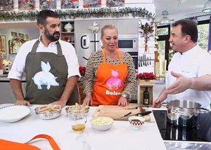 Foto: Belén Esteban, churrera por un día en 'Robin Food' (TELECINCO/ROBIN FOOD)