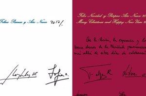 Foto: Letizia, Felipe, Leonor y Sofía, ¿cómo son por sus firmas? (TWITTER)