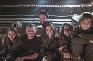 """Foto: Rania de Jordania comienza el 2015 en familia y """"con mucho amor"""" (INSTAGRAM @QUEENRANIA )"""